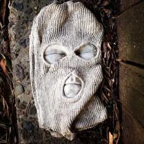 Balaclava Man, Street Art, Glebe